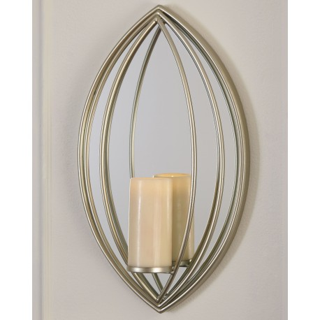 Donnica - Silver Finish - Wall Sconce