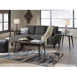 Jarreau - Gray - Queen Sofa Sleeper & Fazani Table Set