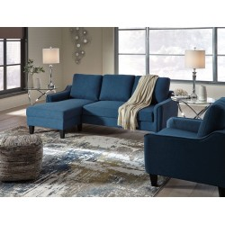 Jarreau - Blue - Queen Sofa Sleeper & Chair