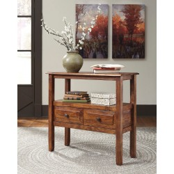 Abbonto - Warm Brown - Accent Table