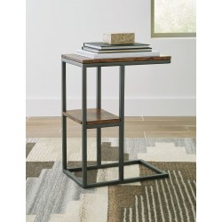 Forestmin - Natural/Black - Accent Table