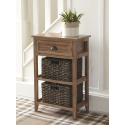 Oslember - Light Brown - Accent Table