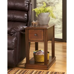 Breegin - Brown - Chair Side End Table