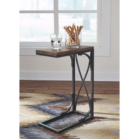 Golander - Medium Brown - Chair Side End Table