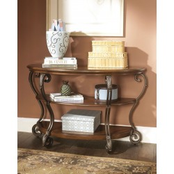 Nestor - Medium Brown - Sofa Table