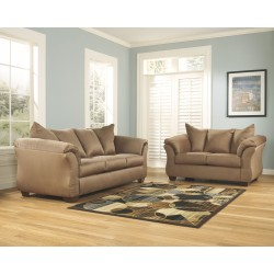 Darcy - Mocha - Sofa & Loveseat