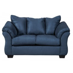 Darcy - Blue - Loveseat