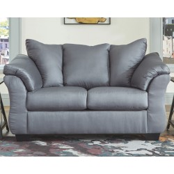 Darcy - Steel - Loveseat