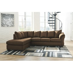 Darcy - Cafe - LAF Corner Chaise & RAF Sofa Sectional
