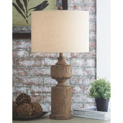 Madelief - Brown - Poly Table Lamp (1/CN)