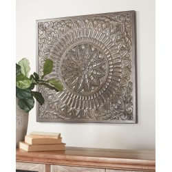 Briony - Antique Gray - Wall Decor