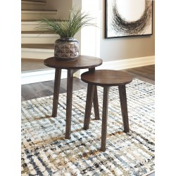 Clydmont - Brown - Accent Table Set (2/CN)
