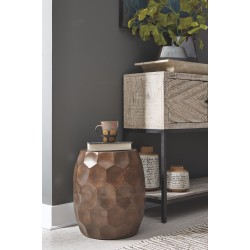 Wynlow - Copper Finish - Stool