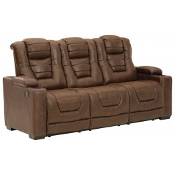 Owner's Box - Thyme - PWR REC Sofa with ADJ Headrest