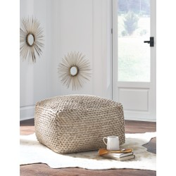 Hedy - Natural/Beige - Pouf