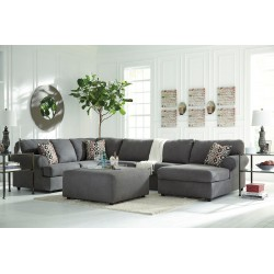 Jayceon - Steel - LAF Sofa, Armless Loveseat, RAF Corner Chaise Sectional & Ottoman