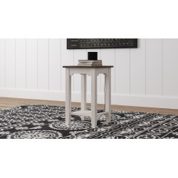 Dorrinson - Two-tone - Chair Side End Table