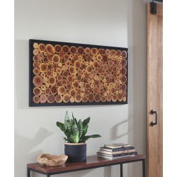 Jonford - Brown/Natural - Wall Decor