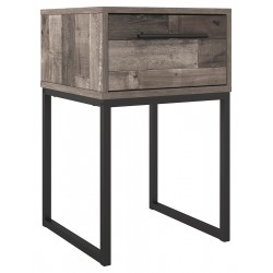 Neilsville - Multi Gray - One Drawer Night Stand
