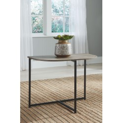 Wadeworth - Two-tone - Chair Side End Table