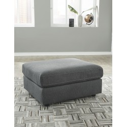 Candela - Charcoal - Oversized Accent Ottoman