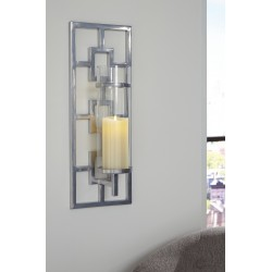 Brede - Silver Finish - Wall Sconce