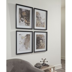 Hallwood - Multi - Wall Art Set (4/CN)