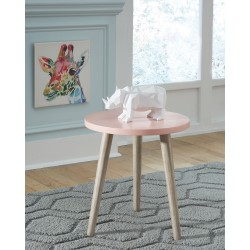 Fullersen - Pink - Accent Table
