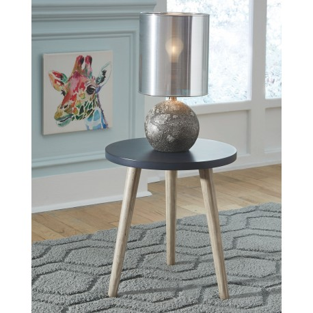 Fullersen - Blue - Accent Table