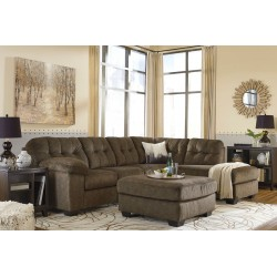 Accrington - Earth - LAF Sofa, RAF Corner Chaise Sectional & Accent Ottoman
