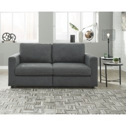 Candela - Charcoal - 2-Piece Sectional