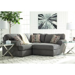 Jayceon - Steel - LAF Sofa & RAF Corner Chaise Sectional