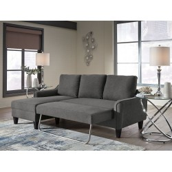 Jarreau - Gray - Sofa Chaise Sleeper