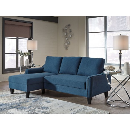 Jarreau - Blue - Sofa Chaise Sleeper
