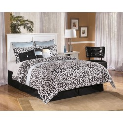 Bostwick Shoals - White - Queen/Full Panel Headboard