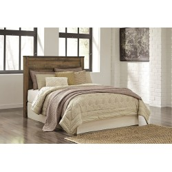 Trinell - Brown - Queen Panel Headboard