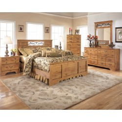 Bittersweet - Light Brown - Queen Panel Bed