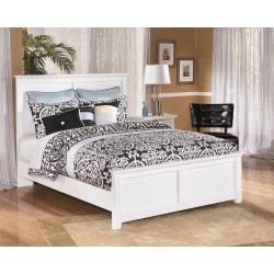 Bostwick Shoals - White - Queen Panel Bed