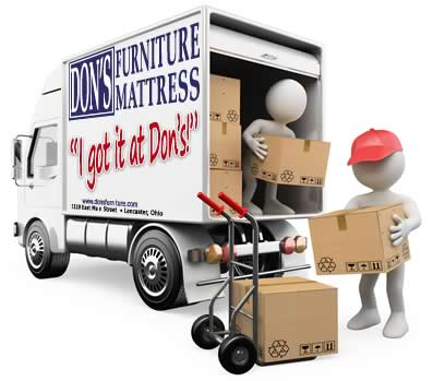 Don's Furniture and Mattress professional delivery staff