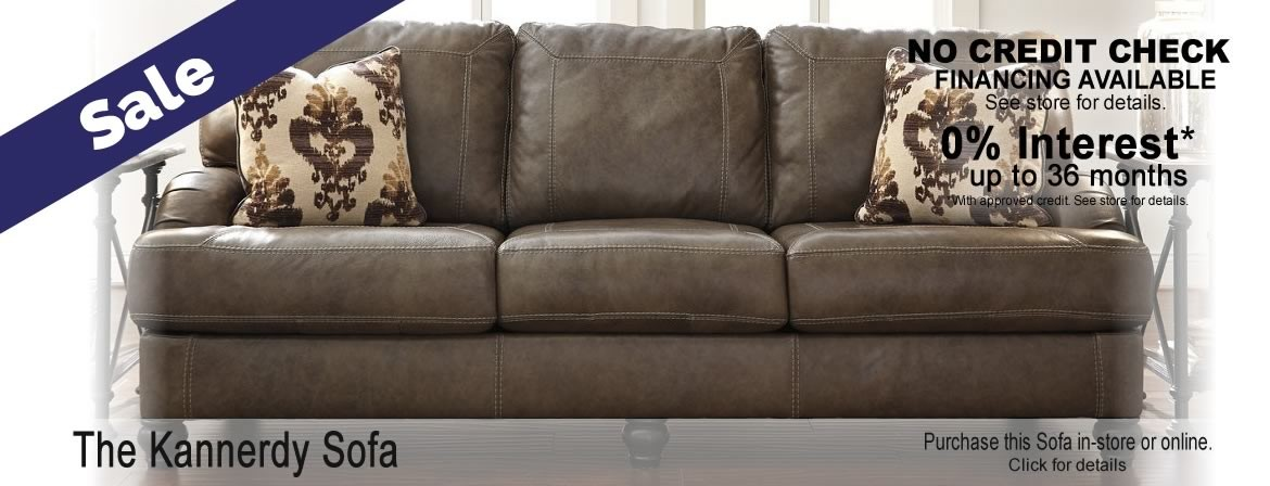 The Kannerdy Sofa by Signature Design by Ashley