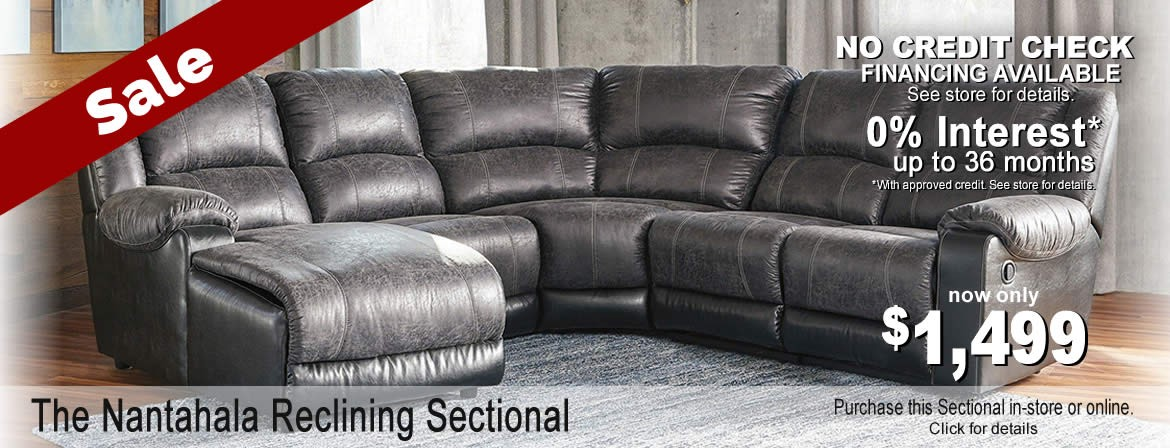 Nantahala Sectional by Ashley