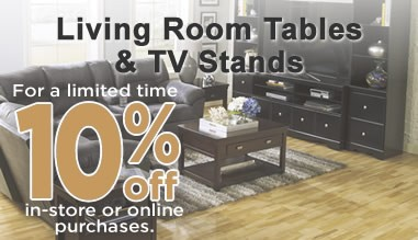 10% off - Tables